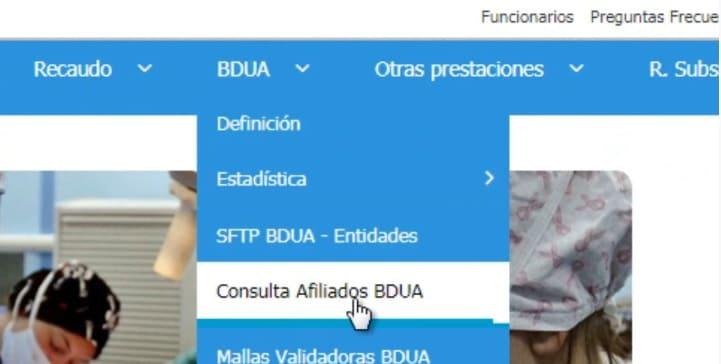 consulta afiliados BDUA